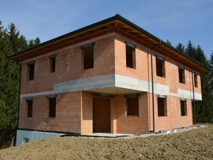 Rohbau Doppelhaushälfte Vestenthal