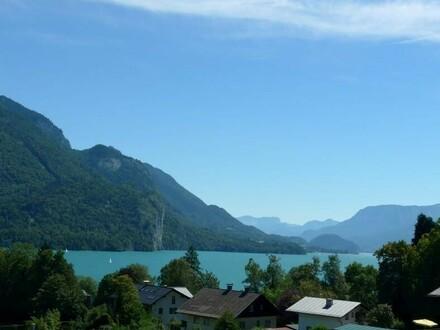 Aussicht zum Wolfgangsee