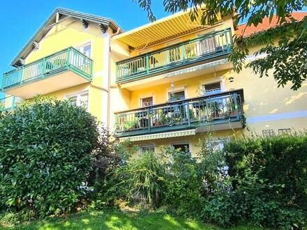 Traumhafte Eigentumswohnung mit großzügiger Terrasse & Schwimmteich