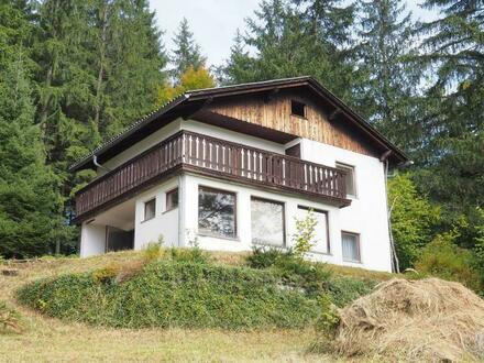 Idyllisches Ferienhaus in Aussichtslage