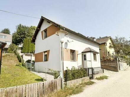 Kleines Haus in Bahnhofsnähe