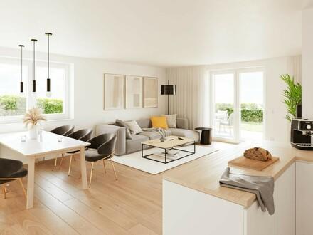 Neue luxuriöse Gartenwohnung! WOHNPARK ZENTRAL - TOP 15