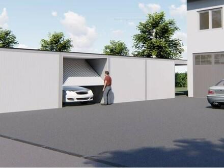 Nur noch 2 Garagen plus 7 Stellplätze frei