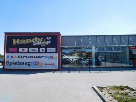 Gewerbe- und Geschäftsfläche im Fachmarktzentrum