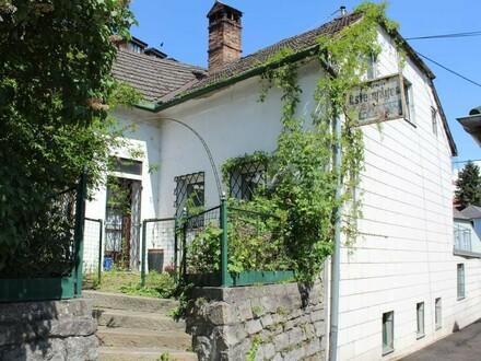 Schnäppchen: Sanierungsbedürftiges Haus mit Garage und Terrasse