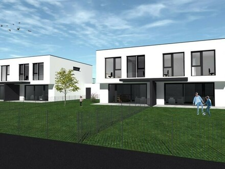 Neubau Doppelhaus Hörsching Möstlgutweg DH 2