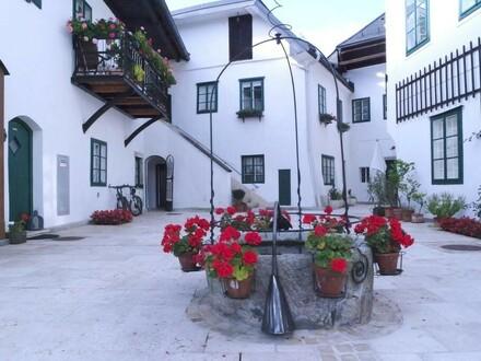 Romantische Stadtwohnung mit Innenhofanteil