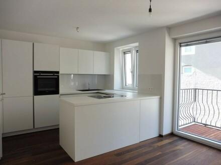 Exklusive 2-Zimmer-Wohnung mit großem Balkon - Erstbezug!