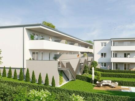 Aschach an der Steyr: WOHNPARK ZENTRAL - TOP 4: Luxus Gartentraum