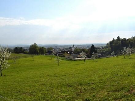 Stadtblick - Grundstücke mit fantastischer Fernsicht