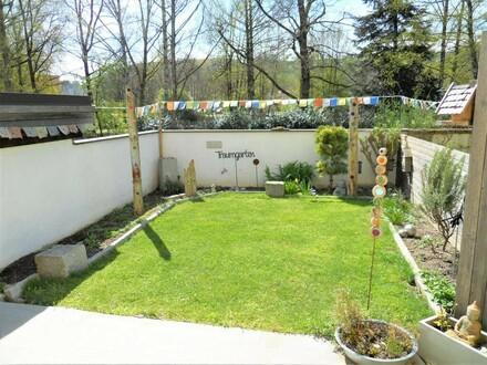 Schöne ruhige Gartenwohnung im Zentrum.