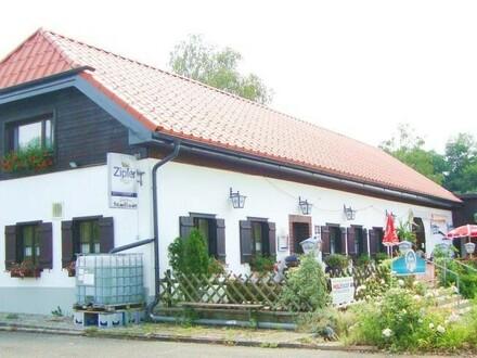 Frequentiertes Gasthaus mit Sportflächen