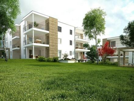 NEUBAU - Gartenwohnung mit Terrasse, Tiefgarage & begehbarem Schrank *provisionsfrei*