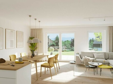 NEUBAU-Etagenwohnung mit Eigengarten & Wohnbauförderung *schlüsselfertig*