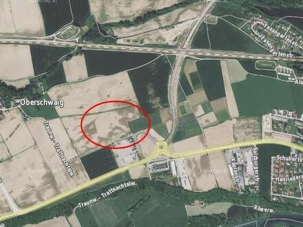 Betriebsbauflächen im Gewerbepark Neukirchen/Lambach