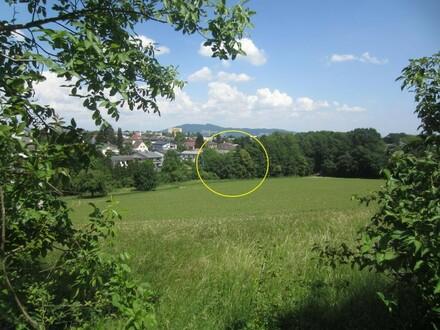 Grundstück samt Althaus