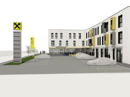 Wohnungen im Multifunktionshaus Hartkirchen - Muster