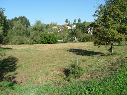 Baugrundstück in Kleinsiedlungslage - ideal auch für Anleger!