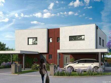 Neuerrichtung Doppelhaus in Rufling