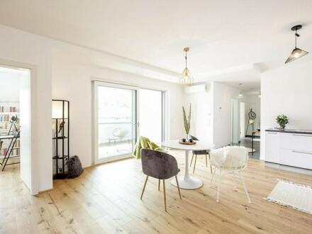 Hochwertig ausgestattete Wohnung mit Loggia