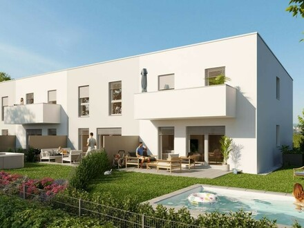 NEUBAU - Schlüsselfertiges Eckreihenhaus mit großzügigem Garten * Residenz Paichberg Terrassen *