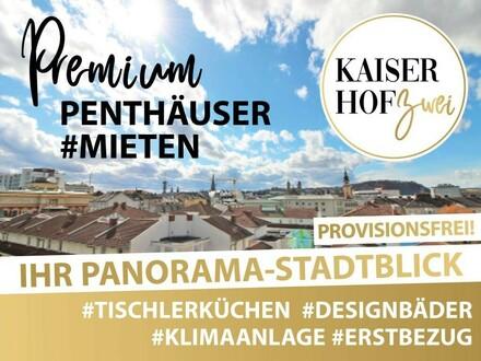 2-Zimmer-PENTHOUSE KAISERHOF 2 | ALL-INCLUSIVE Wohnen zum ERSTBEZUG - PROVISIONSFREI