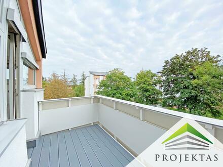Sanierte 4 Zimmerwohnung mit Balkon in Hörsching! Parkplatz möglich!