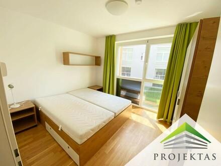 An der Med-Uni & FH-Linz: Vollmöblierte 2-Zimmer Wohnung! Jetzt als BONUS: 1 Monat mietfrei!