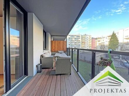 Exklusive 3 Zimmer Lifestyle-Wohnung mit Küche & Balkon im Linzer Coulin Corner