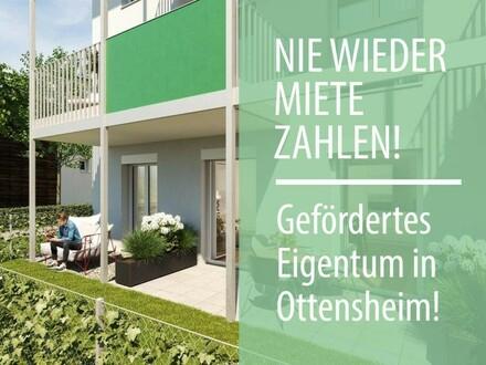 Zügiger Baufortschritt in Ottensheim: Ihre geförderte Neubau 3-Zimmer DG-Wohnung wartet auf Sie!