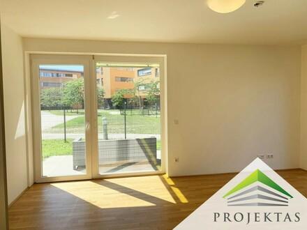 1 Monat mietfrei: Geräumige Wohnung mit Garten & 2 Terrassen im SQUADRO!