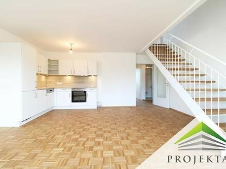 Neu sanierte DG-Maisonette-Wohnung mit Küche & Balkon - Nähe Bulgariplatz