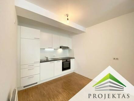 Perfekte 2 Zimmerwohnung direkt im Zentrum von Ottensheim - Küche neu möbliert!