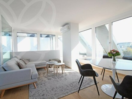 PALAIS LUSTENAU - Design-Penthouse mit atemberaubender Dachterrasse