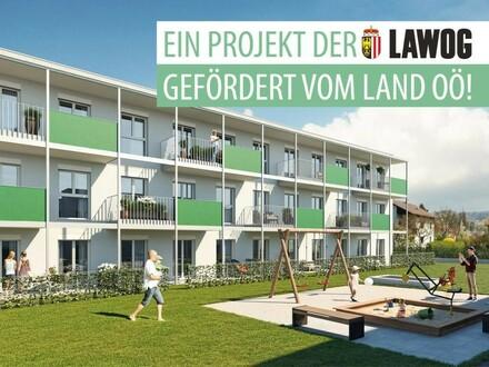 Baubeginn in Ottensheim! Ihre geförderte Neubau 2-Zimmer DG-Wohnung wartet auf Sie!