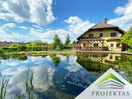 Herrschaftlicher Landsitz mit Schwimmteich in Wilhering | 360° Rundgang online!