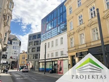 Mehr Frequenz geht nicht: Ihr Neubau-Shop am Linzer Taubenmarkt / Promenade! (Teilbar)
