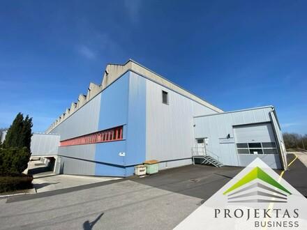 Moderne Produktions- bzw. Lagerhalle inklusive beheizbarer Bürofläche!