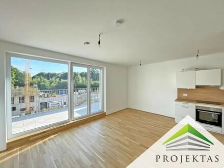 """""""BHome"""" - Sonnige 2-Zimmer Wohnung mit großem Balkon am Fuße des Hummelhofwaldes!"""
