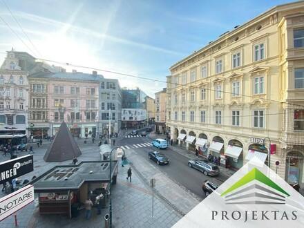 BESTLAGE - Stilvolle 3 Zimmer-Altbauwohnung direkt am Linzer Taubenmarkt