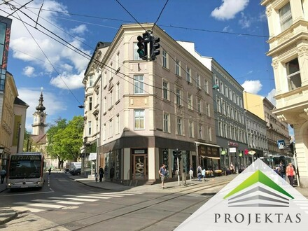 TAUBENMARKT / Promenade: Einmaliges Eck-Geschäftslokal in absoluter PRIME-LAGE!