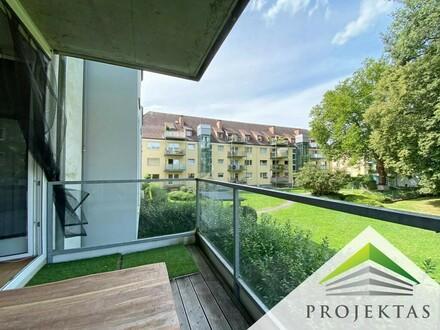 Am Bindermichl: Moderne 3 Zimmerwohnung mit Balkon & TG-Platz!