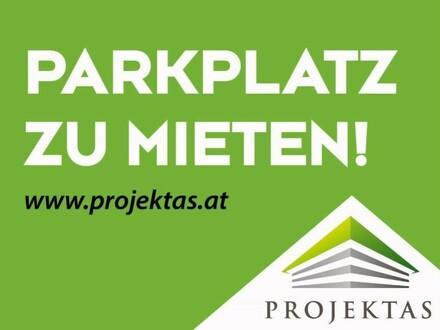 Parkplatz in abgesperrtem Innenhof an der Unteren Donaulände