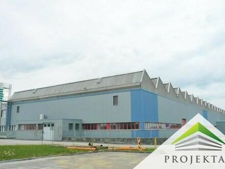 Moderne Produktions- bzw. Lagerhalle inklusive beheizbarer Bürofläche