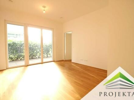 Hofseitige 2 Zimmerwohnung mit Loggia und Küche - ab sofort verfügbar!