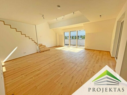 FIRST USE! Penthouse in the heart of Urfahr with a sunny roof terrace and single garage