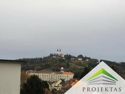Wunderschöne 2 Zimmerwohnung mit Wintergarten und Pöstlingbergblick in Urfahr!