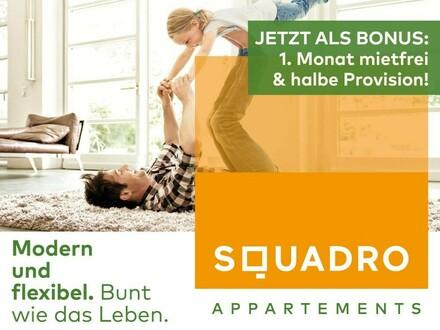 Perfekt aufgeteilte 4 Zimmerwohnung mit großem Balkon! - Jetzt als BONUS: 1 Monat mietfrei!