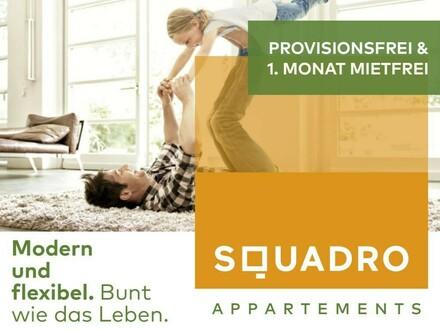PROVISIONSFREI - Moderne 3 Zimmerwohnung mit großem Balkon & Küche! Jetzt 1. Monat mietfrei!