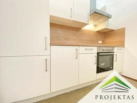 Ruhige 1 Zimmerwohnung mit neuer Küche in Stadtnähe!